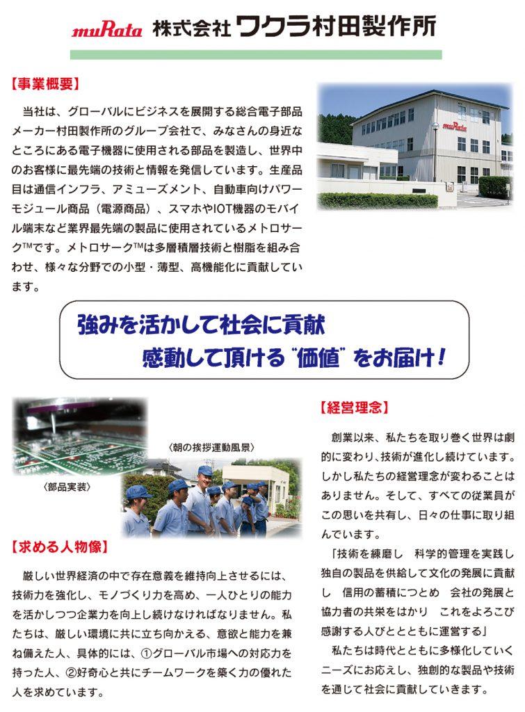 ワクラ村田製作所
