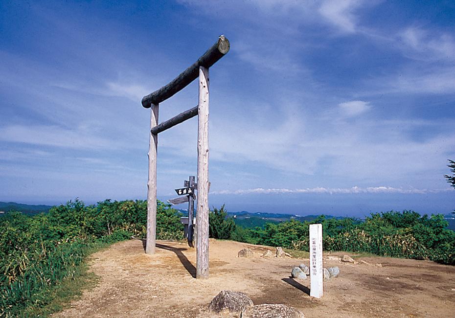 碁石ヶ峰県立自然公園 鳥居